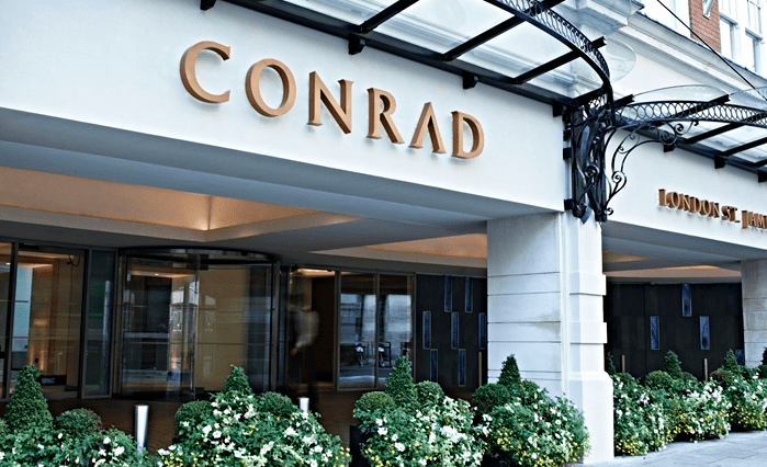 The Conrad London St. James is in a great location for you to explore the popular sites