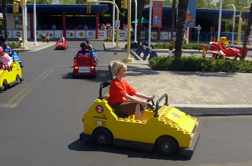 LEGOLAND California is filled with fun rides for young children. Photo by Kara Williams.