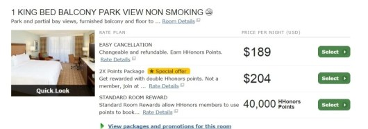Transferring your points to Hilton is generally considered very bad strategy.