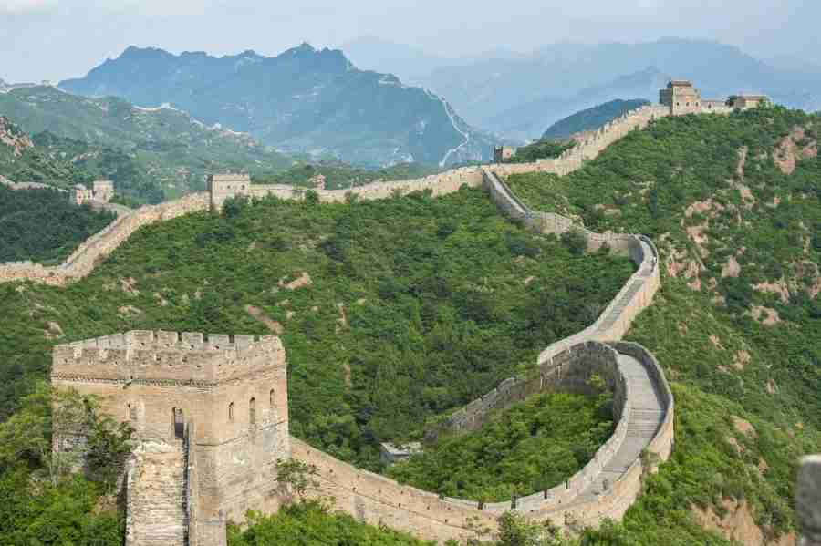 The Great Wall of China is only an hour drive from central Beijing. Courtesy Shutterstock.