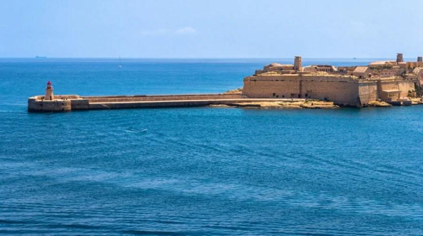 Fort Ricasooli (Photo courtesy of eldeiv via Shutterstock)