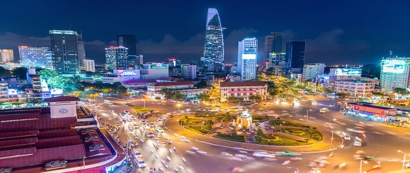 My friend just booked First and Business class from Miami to see Saigon for 140,000 miles. Photo courtesy of Shutterstock.