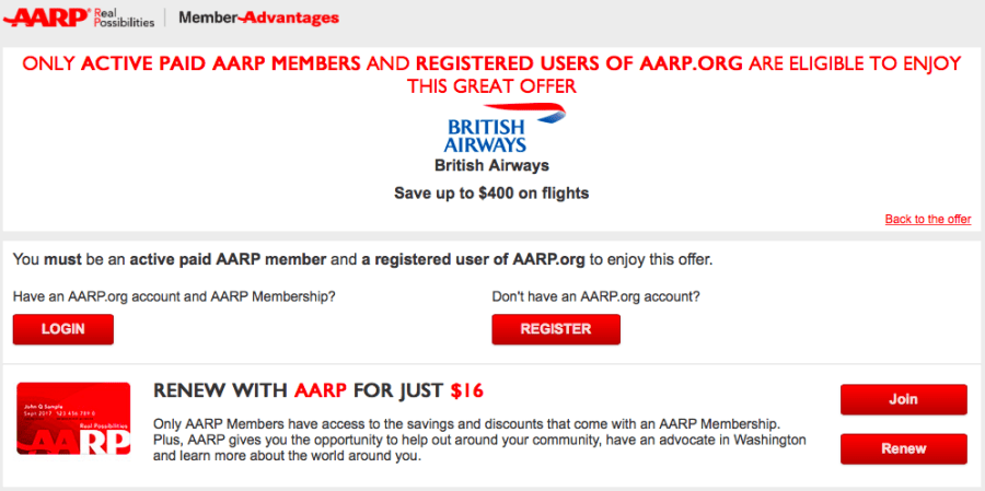 If you're 50 years old or older, you have reached AARP age and are eligible to join AARP — although you can join as an associate member if you're under age The AARP membership cost is usually $16 per year, but you can find various discounts when you sign up for more than one year.
