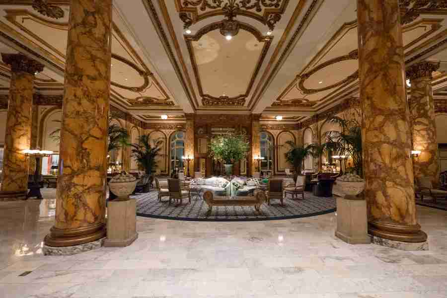 The Fairmont San Francisco certainly has some sparkle, but doesn