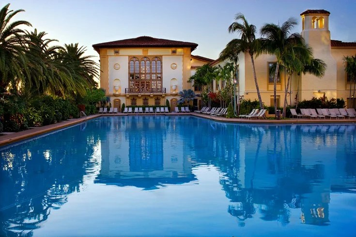 the biltmore coral gables has the largest hotel pool in the continental us
