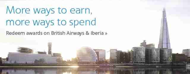 Earn/redeem Business Extra points on British Airways and Iberia
