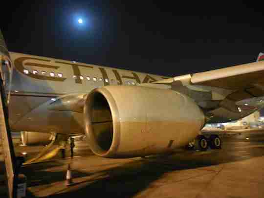 Once you step off the plane in Abu Dhabi, it