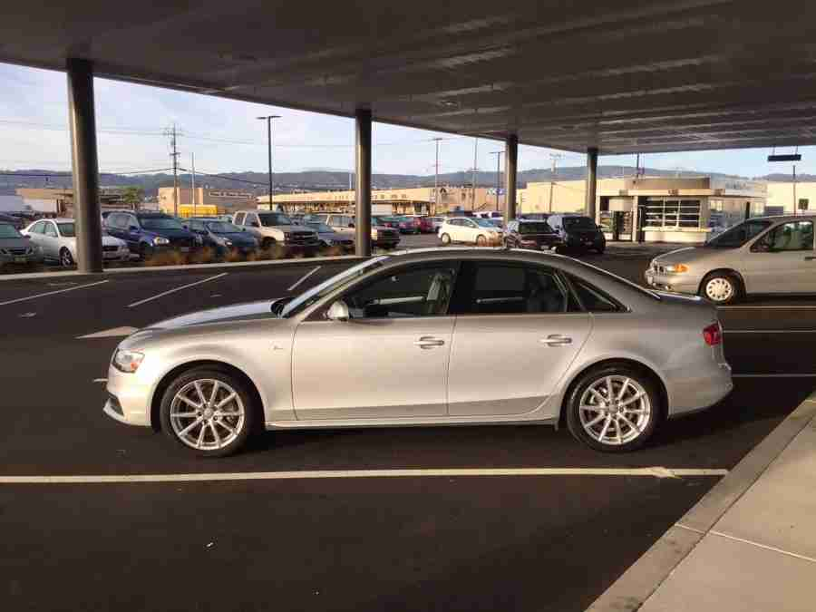 A Silvercar Audi A4 at SFO.