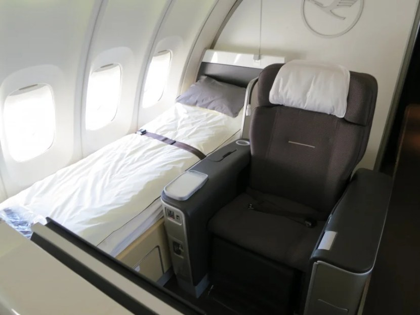 Lufthansa First Class award space is not released to partners until T-minus 14 days from departure. Photo courtesy The Points Guy.