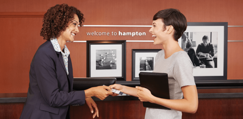 Hampton Inn was one of the first brands to institute a 100% satisfaction guarantee.