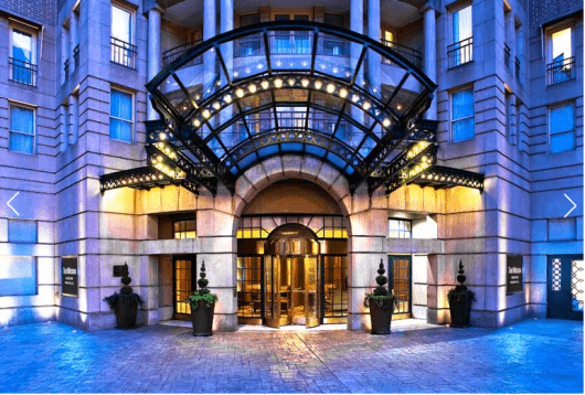 The Westin Georgetown, Wasington D.C. has rooms starting close to $400 or only 12,000 points for a free night.
