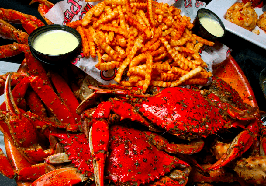 Crab fries (and crabs) at Chickie & Pete
