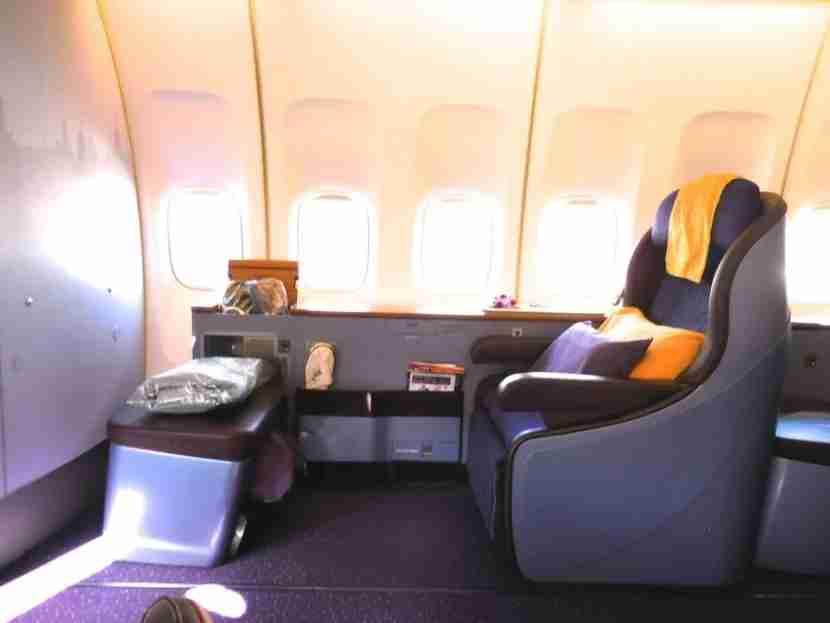I flew Thai Airways