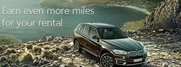 Get AAdvantage miles for Avis and Budget car rentals