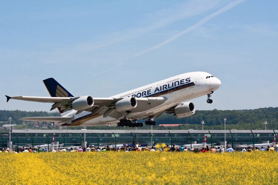 Singapore's A380 is the airline's only aircraft to offer Suites class. Photo courtesy of Shutterstock.