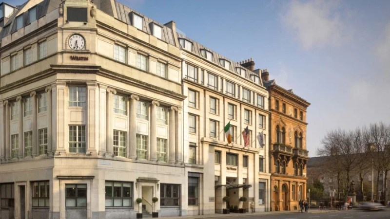 Consider staying at the Westin Dublin, a category 5 SPG property.