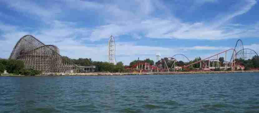 Cedar Point Panorama