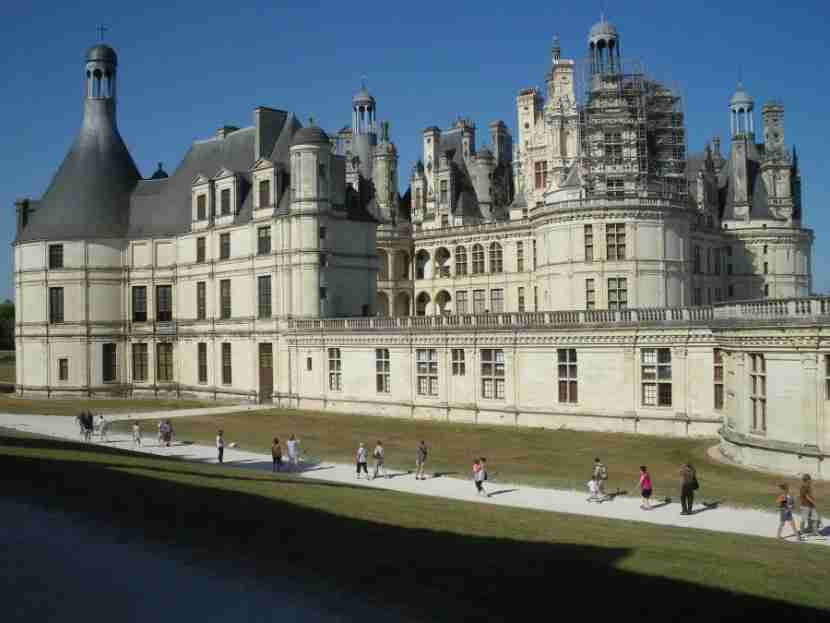 Chateau de Chambord, Loire Valley. Photo by Luiyo/Flickr