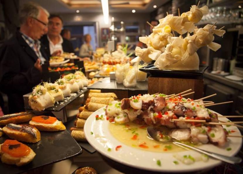 Basque dining is very serious business in Spain's San Sebastian. Photo courtesy of San Sebastian Food on Facebook.