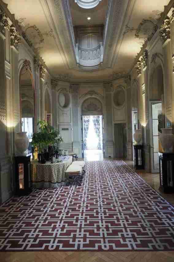 A hallway big enough to hold a party.