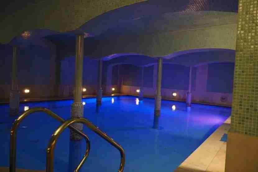 Underground pool... or Madrid