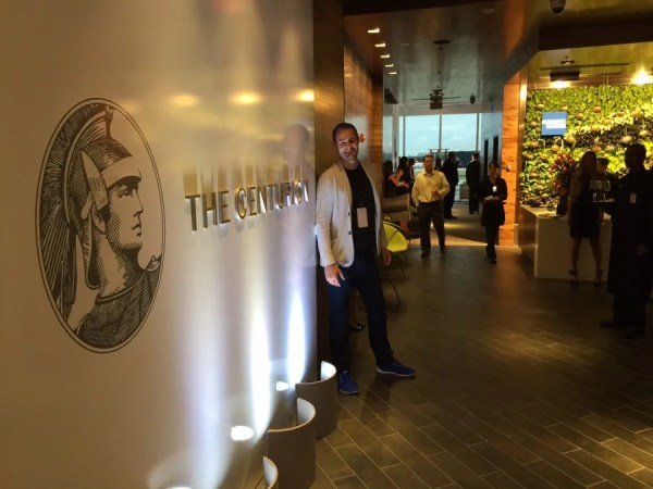 Welcome to the newest Centurion Lounge in the Miami Airport