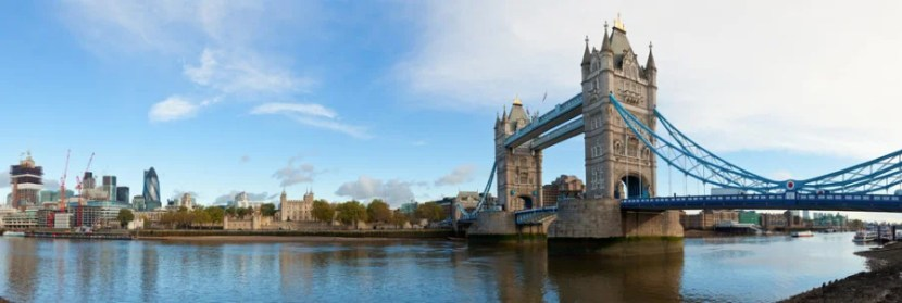 A cab to the London bridge can cost over $100.