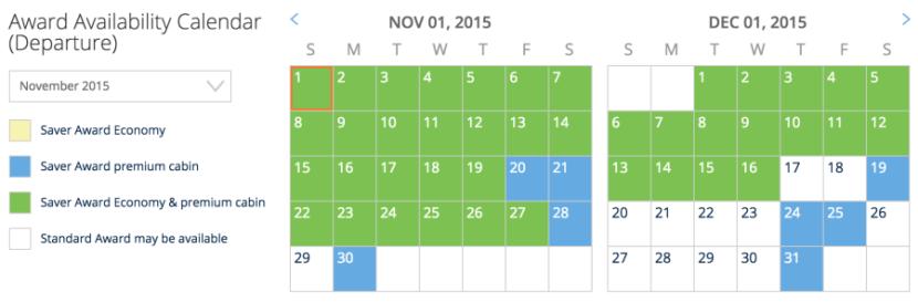 Newark to Los Angeles shows similar great availability.