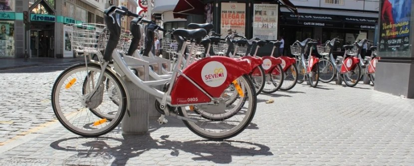 Seville's public bike system is well-designed, affordable and a great way to see the city!