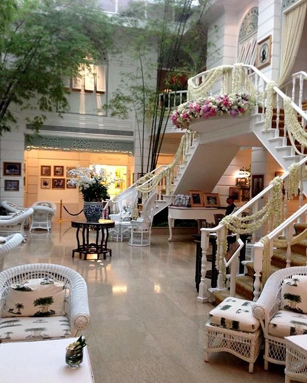 The Author's Lounge, where many a Bangkok wedding takes place.