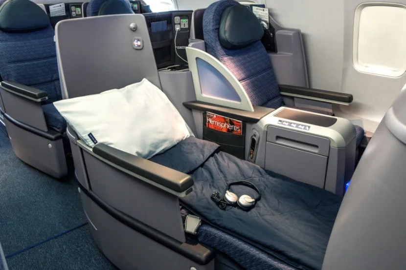 United isn't the most luxurious way to get to Europe, but business class is easily attainable using Ultimate Rewards points.