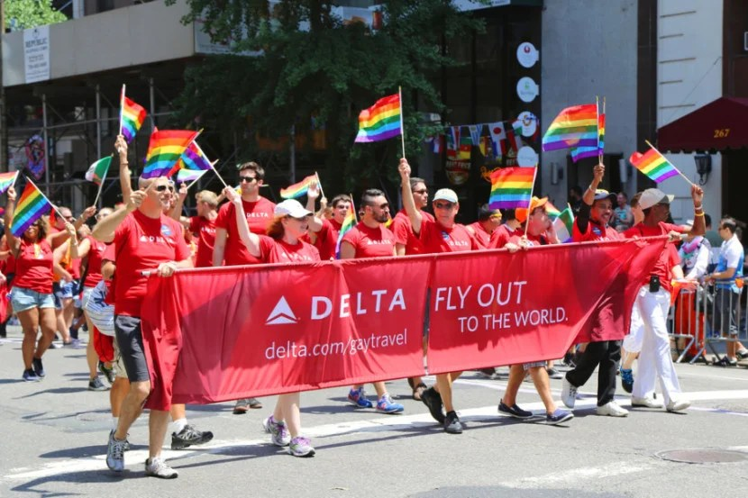 southwest airlines gay partners