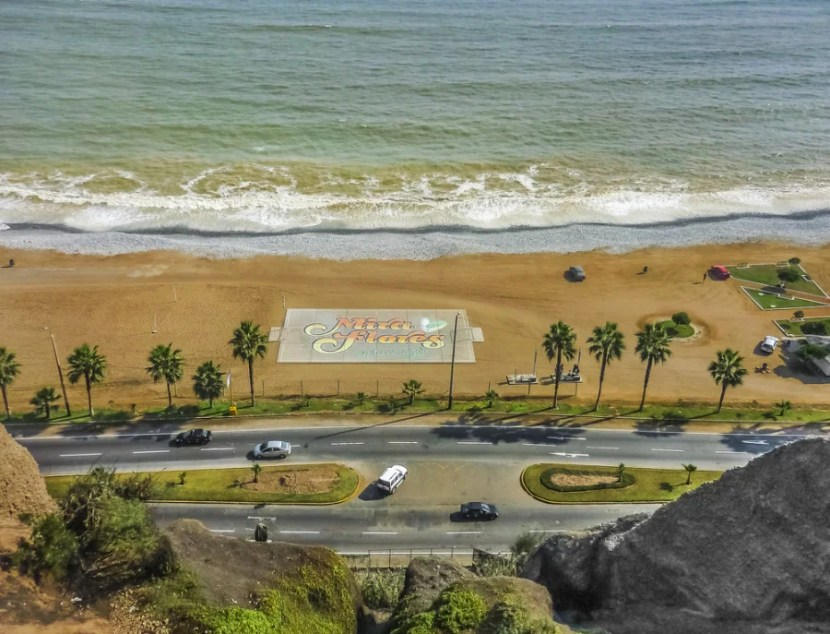 From the vantage points of Lima's Miraflores neighborhood, the Pacific sure does look inviting. Photo courtesy of Shutterstock.