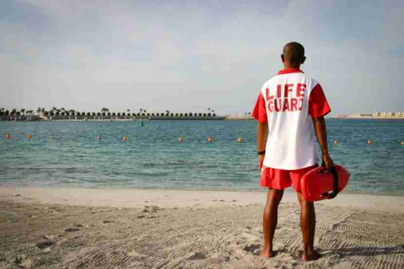 The Emirates Palace is a lavish splurge, but its beach is the best in Abu Dhabi.