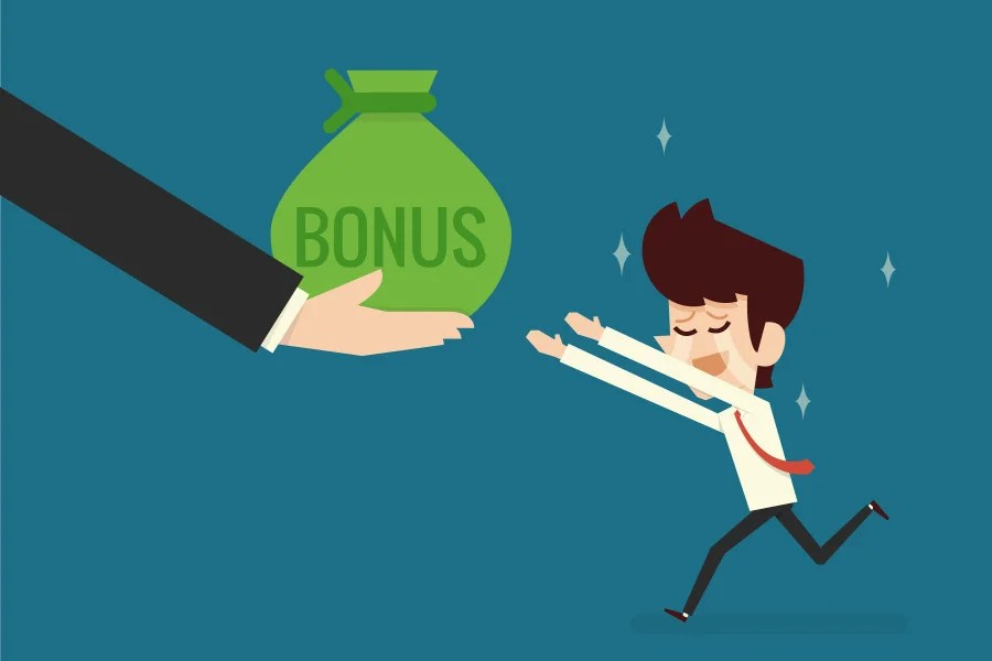 Bonuses can be exciting ... and disorienting. (Photo courtesy of Shutterstock)