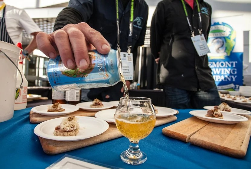 Beer festivals often feature some great food as well. Photo © Brewers Association
