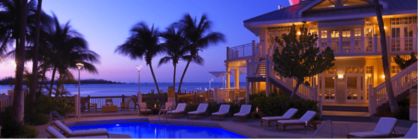 If room rates are high but flights are cheap, you can transfer your points to Hyatt and book a room at the Hyatt Key West Resort & Spa for your next trip.