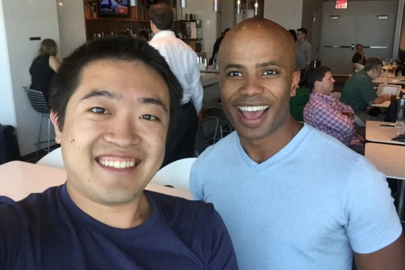 I love chatting with readers! I ran into TPG reader Kevin in the Centurion Lounge.