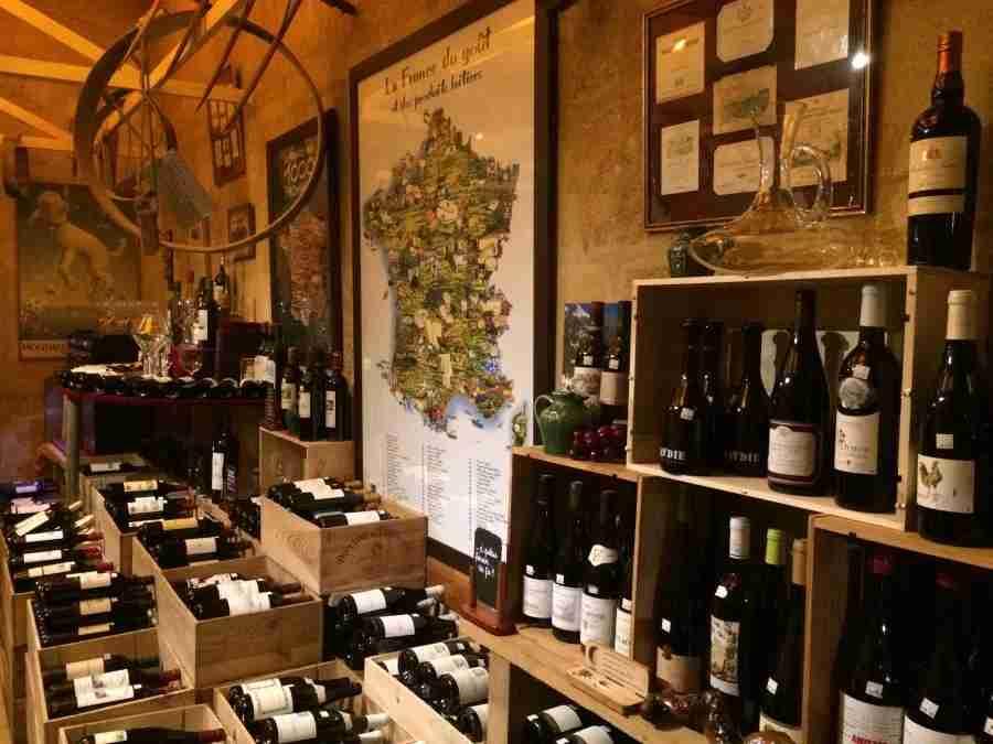 Wall of wine, anyone?