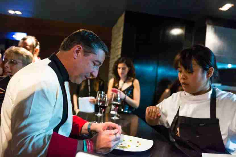 Mexican and international chefs take center stage at the Food and Wine Festival. Photo courtesy of Mexico City Food and Wine Festival.