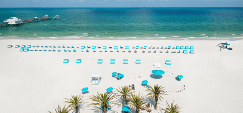 The beautiful Gulf Coast is right outside your door at the Hilton Clearwater Beach.