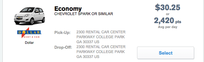 chase ultimate rewards car rental promo code