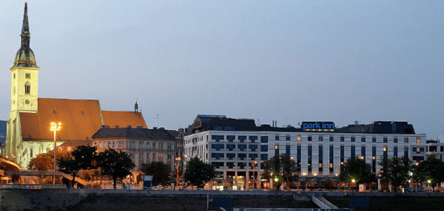 The Park Inn Bratislava is in a perfect spot for you to explore Slovakia