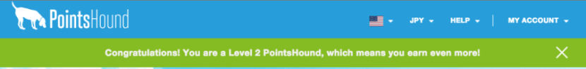 As a level 2 member for Pointshound.com l can earn excellent bonuses on paid hotel stays.