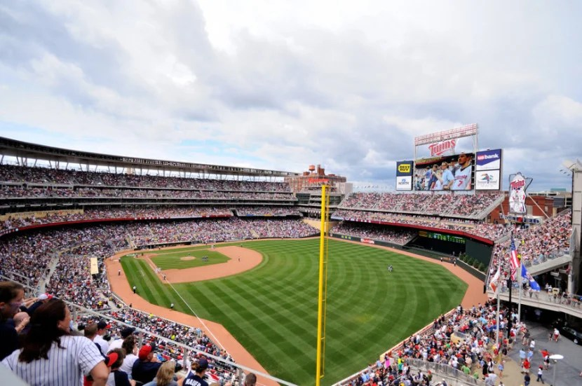Target Field in Minneapolis, Minnesota. Photo courtesy of the stadium.