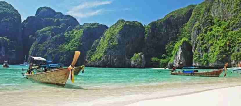 Vanty and her fiancé are planning a visit to Koh Phi Phi island. Image courtesy of Shutterstock.