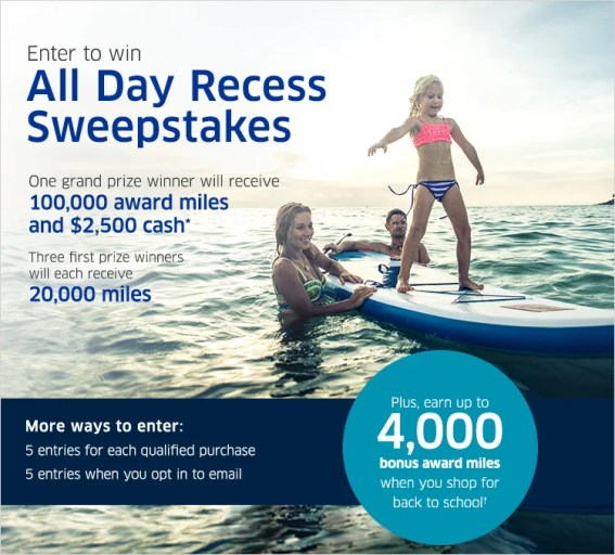 United's new promo allows you to earn up to 4,000 bonus miles for purchases made through its online shopping portal.