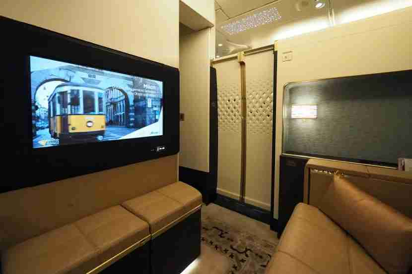 Etihad A380 The Residence - Door Closed