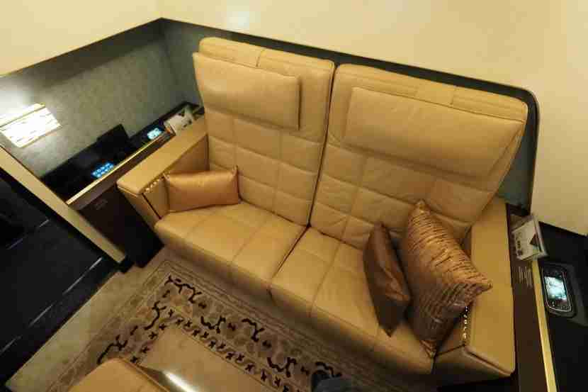 Etihad A380 The Residence - Seats