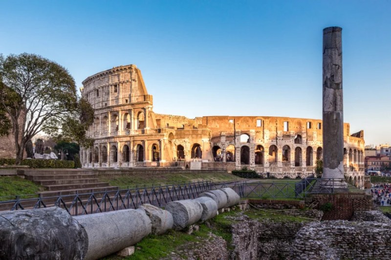 Rome's most famous landmark, the Colosseum. Photo courtesy of Shutterstock.